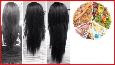 افضل عناصر غذائية لتعزيز نمو الشعر