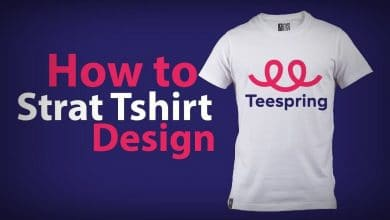 أفضل طرق الربح من تصميم الملابس 2020 (موقع Teespring)