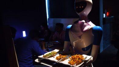 الذكاء الاصطناعي في المطاعم 2021