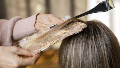 افضل انواع صبغات الشعر الخالية من الامونيا