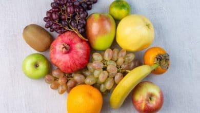 السكر الموجود في الفواكه