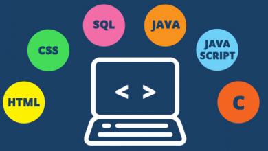 لغة يكثر استخدامها لتصميم تطبيقات الويب